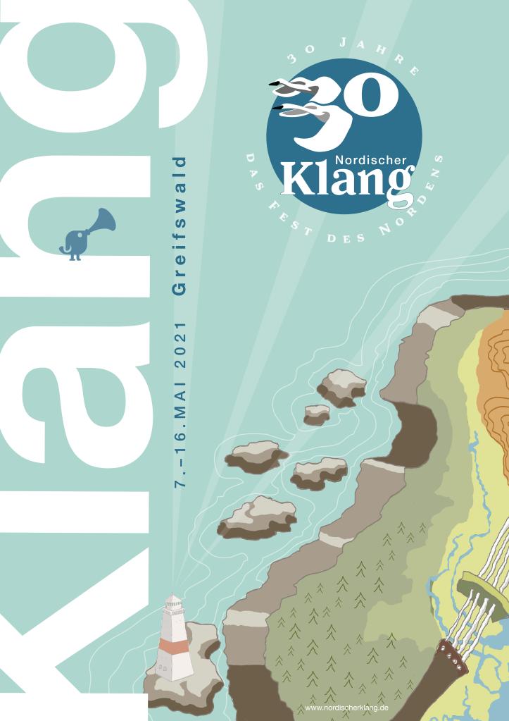 Nordische Klang -tapahtuman julistekilpailun Tuize K:n kilpailutyö